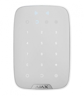 AJAX KeyPad Plus, BLANC