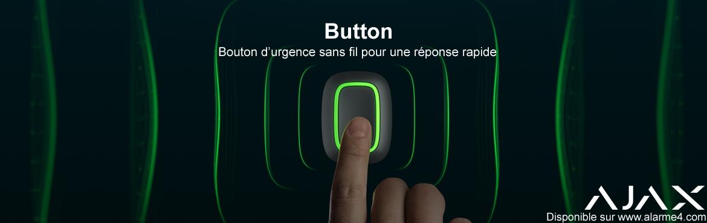 AJAX Button : nouveau  Bouton d'urgence sans fil pour une réponse rapide