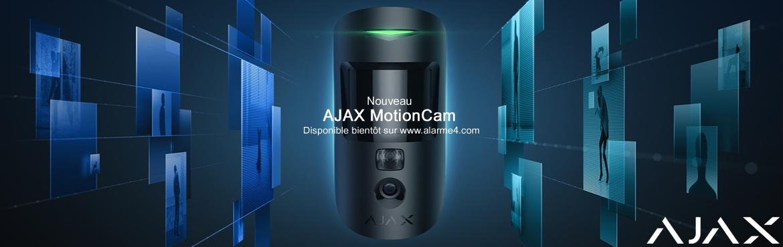 AJAX Motion CAM : nouveau détecteur avec caméra intégrée